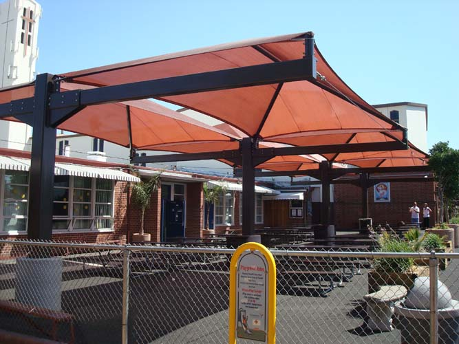 Eide Industries Also Fabricates Large Patio Canopies Awnings And Industrial Canvas Products For Restaurants Retail Residential Uses