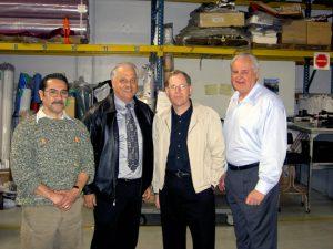 Jesse Borrego, George Ochs, Joe Belli and Don Araiza (left to right)