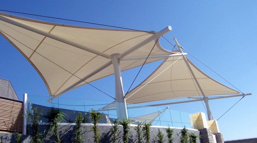 Architectural Fabric Shade Structures