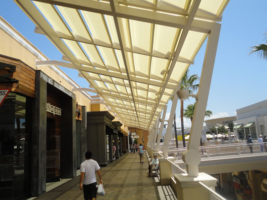 Architectural Canopy Structures : Commercial canopies eideindustries