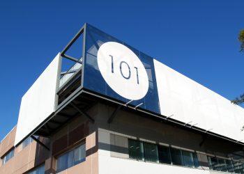 101 Sepulveda Tensile Facade