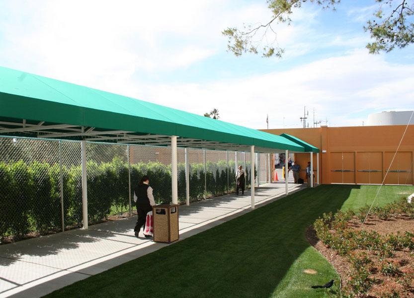 Walkway Canopies & Commercial Canopies | EideIndustries.com